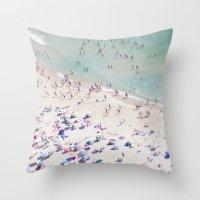 beach love IV Throw Pillow