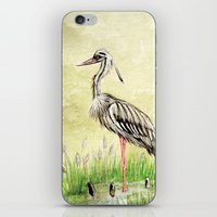 Heron iPhone & iPod Skin