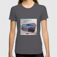 T-shirt featuring 3D Mountains by Cafelab