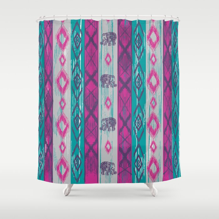Boho Chic Shower Curtain By Rskinner1122 Society6