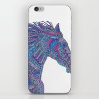 Technicolor Horse iPhone & iPod Skin