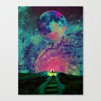 Cosmic Shore Canvas Print