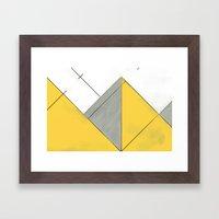 Sketch. (Nile #1) Framed Art Print