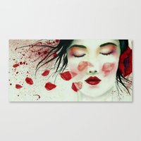 Head Wounds Canvas Print
