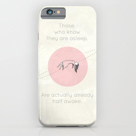 The Insomnia of Heisenberg iPhone & iPod Case