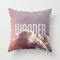 Wander (vertical) Throw Pillow