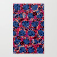 Scribble pattern. Canvas Print