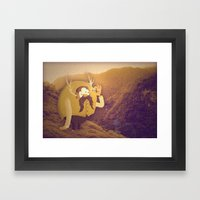 Diamond Darrel Framed Art Print