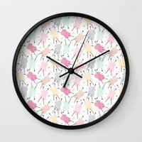 Wool is cool ! Wall Clock