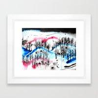 Tuesday Framed Art Print