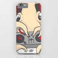 iPhone & iPod Case featuring squiDJ by Hurtin Albertan