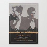 Poster True Detective 2 Canvas Print