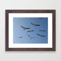 Flying High Again Framed Art Print