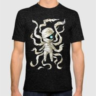 Mummy Mens Fitted Tee Tri-Black SMALL