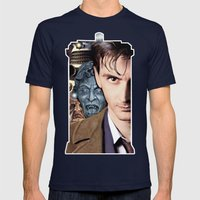 Doctor Who Mens Fitted Tee Navy SMALL
