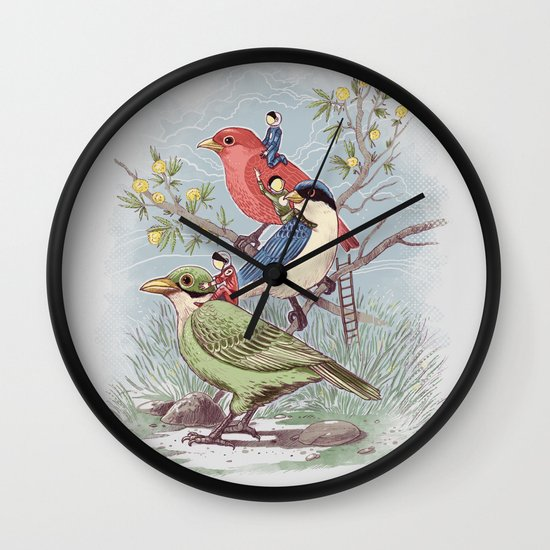Ready to take off Wall Clock