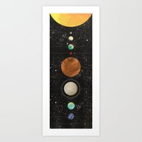 I Need Some Space Art Print