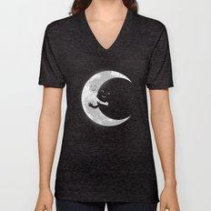 Moon Hug Unisex V-Neck