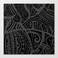 Abstractish 4 Canvas Print