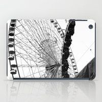 At The Fair: Round And R… iPad Case