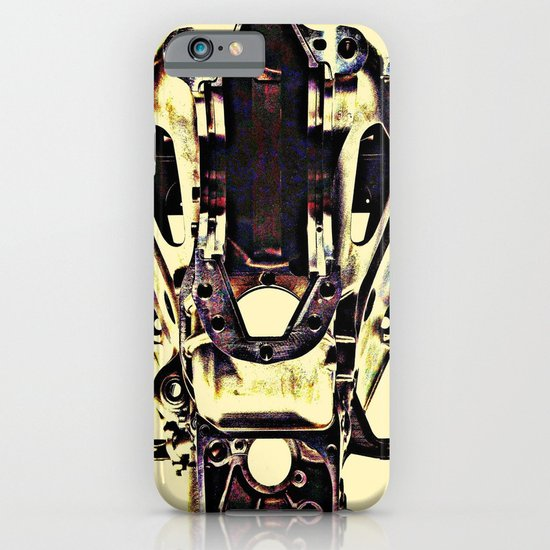 MEKANIKSKULL iPhone & iPod Case