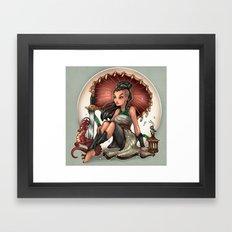 Heart of a Dragon Framed Art Print