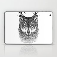Laptop & iPad Skin featuring I'm Your Deer by Balazs Solti
