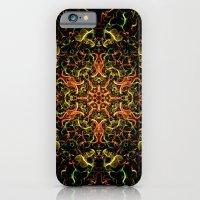Christmas Tree Fractal iPhone 6 Slim Case