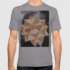 Stratos Mens Fitted Tee Athletic Grey SMALL