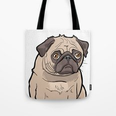 Fat Pug Tote Bag