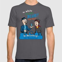Mr. White Can Make Blue! Mens Fitted Tee Asphalt SMALL