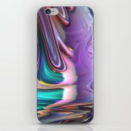 iPhone & iPod Skin featuring 749 Fractal by VLKAE