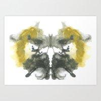 NEUE Inkblot Art Print