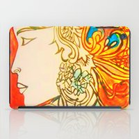 Etched In Lace iPad Case