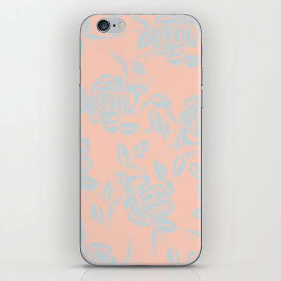 Rose is a Rose - Garden party iPhone & iPod Skin