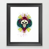 The Beauty Of Color And … Framed Art Print