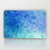Blue Mosaic Pattern Laptop & iPad Skin