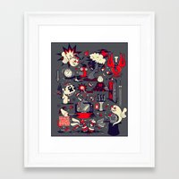 From The Womb To The Tom… Framed Art Print