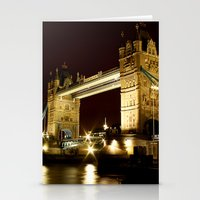 Tower Bridge, London, England Stationery Cards