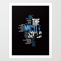 The Mighty Souls: Jazz L… Art Print