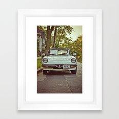 Alfa Framed Art Print