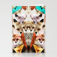 WHAT THE FOX SAY Stationery Cards