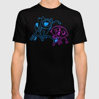 BFF Mens Fitted Tee Black SMALL