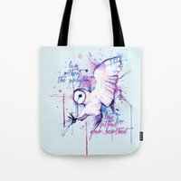 Live Without The Sunligh… Tote Bag