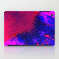 02-14-36 (Red Blue Glitch) iPad Case