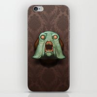 Swamp Alien iPhone & iPod Skin