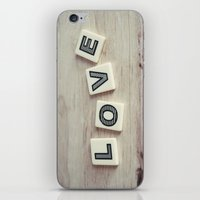 Letter Love iPhone & iPod Skin