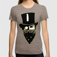 Trust Me Womens Fitted Tee Tri-Coffee SMALL