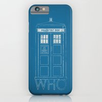 doctor who iPhone & iPod Cases featuring Doctor WHO by John Medbury (LAZY J Studios)