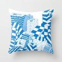 free radical Throw Pillow